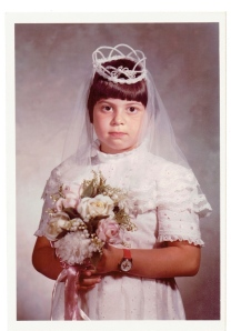 chubbygirltheobscure on her communion