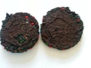 The burnt cookies