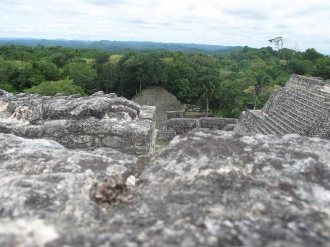 Atop a Mayan Pyramid